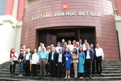 Thuyết minh tự động cho bảo tàng Văn Học Việt Nam
