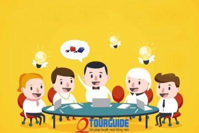 Giải pháp sử dụng Thiết bị thuyết minh WT – 300 trong làm việc nhóm